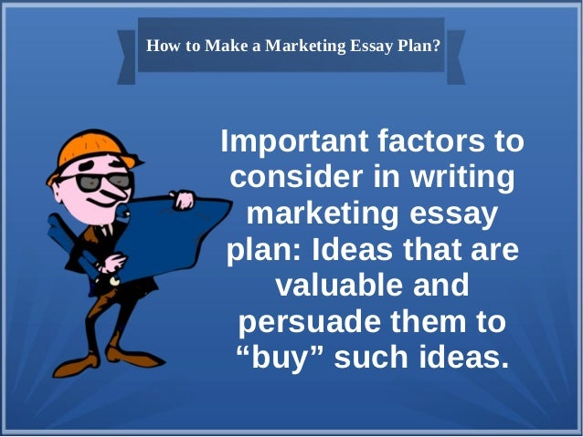 marketing plan 5 essay Marketing plan: is it necessary for a firm to evaluate the marketing feasibility of a newproduct or service launch estefany, sánche.