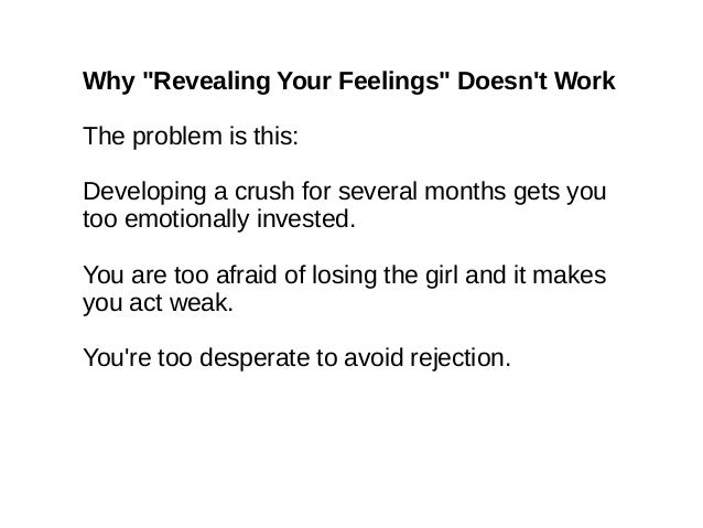 How to move on from rejection