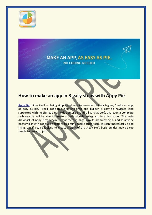 Free App Builder with Appy Pie