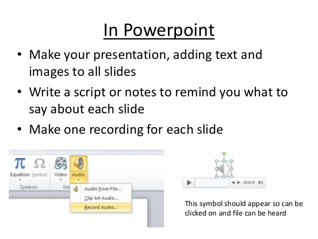 How to Add Audio to PowerPoint Presentations