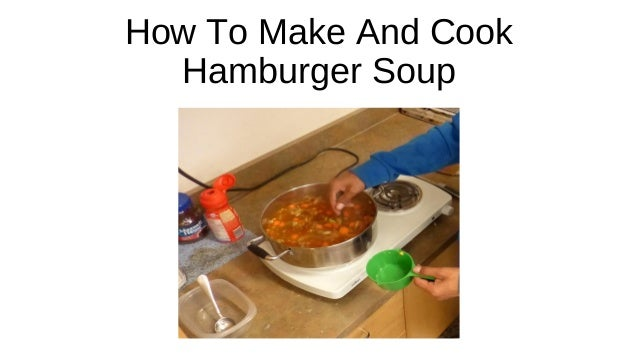 how to make soup at home