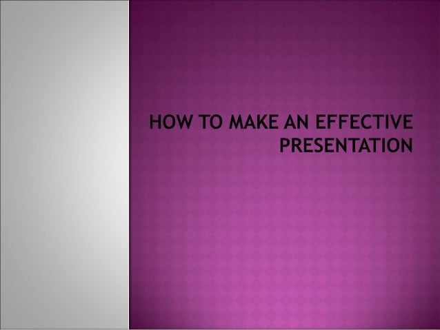    If you want to make an effective    presentation which is out of any    mistakes just follow these steps    and instru...