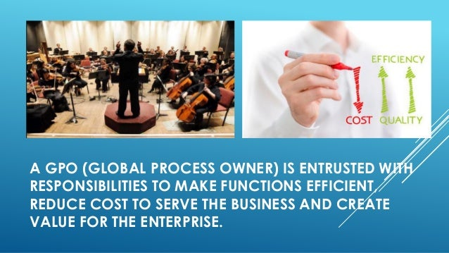 How to make any global process owner successful Slide 2