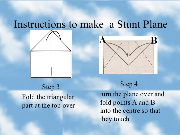 PPT - How to Make a paper plane PowerPoint Presentation, free ... | 546x728