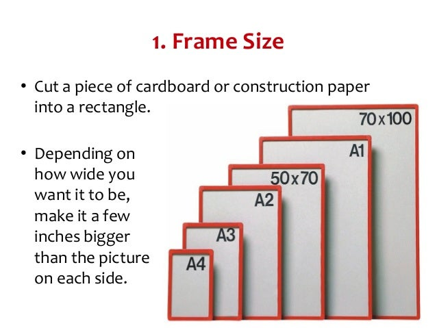 How To Make A Picture Frame?