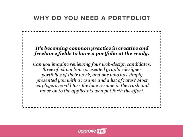 how to make a portfolio Make a commitment to work on a personal project for your portfolio for an hour a day, or whatever works for you 3 set deadlines for yourself (and keep them) .