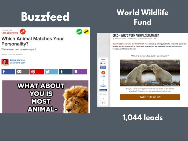 How to make a quiz like buzzfeed for lead generation