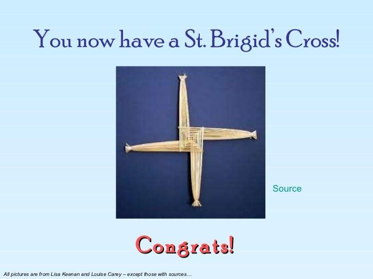 How To Make A St Brigids Cross