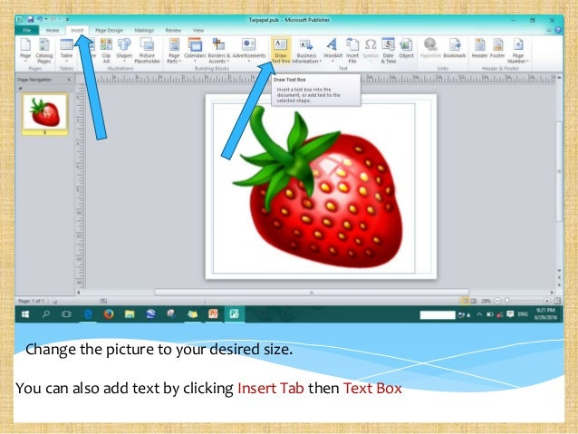how to make a wird document look creative
