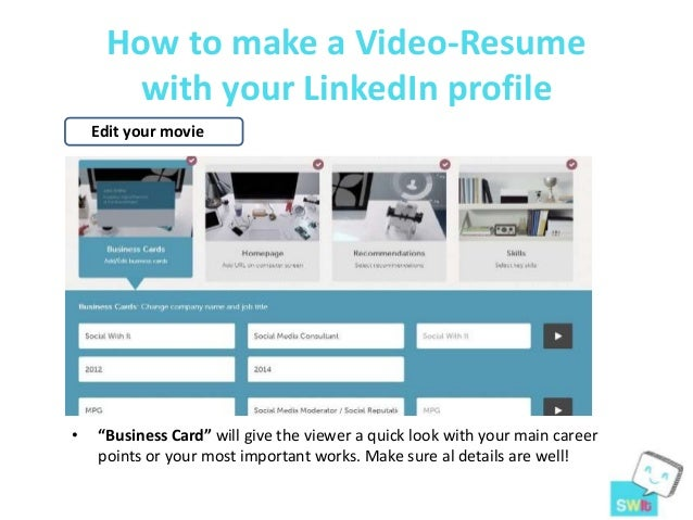 10. How To Make A Video Resume ...  Video Resume Website