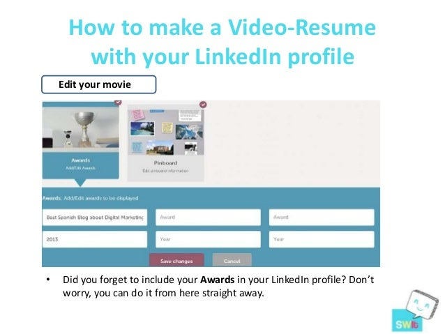 14. How To Make A Video Resume ...  Video Resume Website
