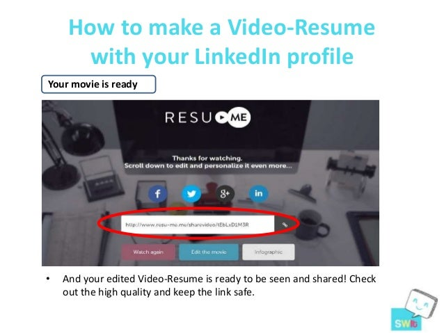 16 how to make a video resume