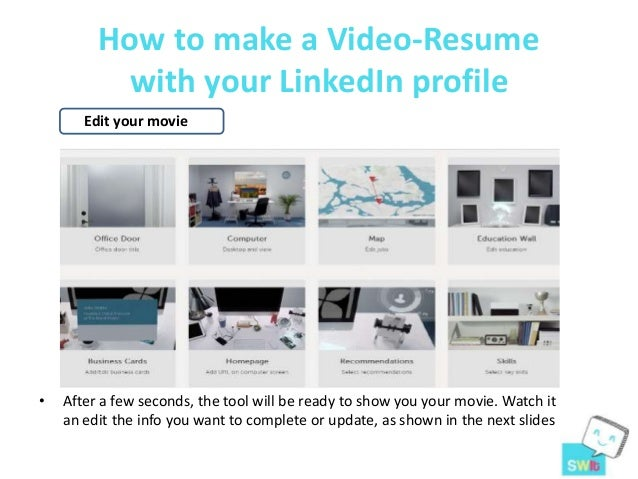 ... 4. How To Make A Video Resume ...  Video Resume Website