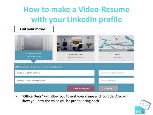 ... 5. How To Make A Video Resume ...  Video Resume Website