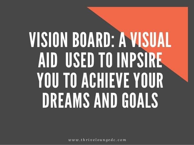 How To Make A Vision Board Slide 2
