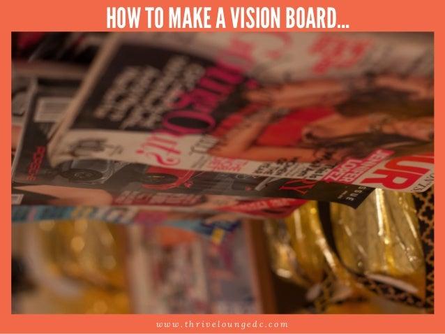 How To Make A Vision Board Slide 3
