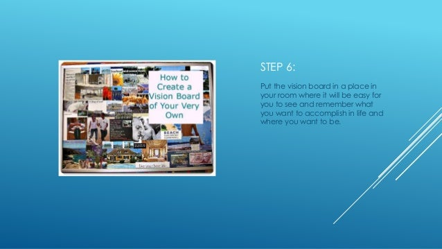 how to make a vision board powerpoint, Powerpoint templates