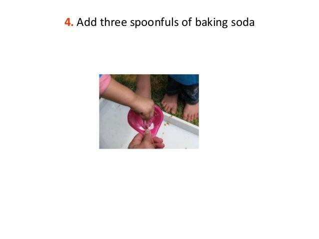 how to make a baking soda volcano