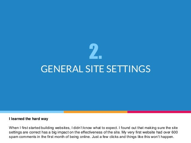 how to create a site for free