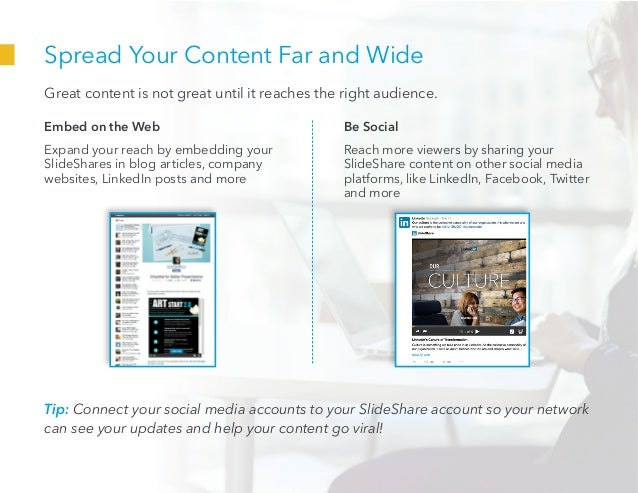 Spread Your Content Far and Wide Great content is not great until it reaches the right audience. Embed on the Web Expand y...