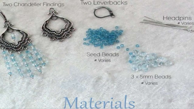 How to make blue chandelier earrings diy jewelry making tutorial how to make blue chandelier earrings 2 aloadofball Image collections