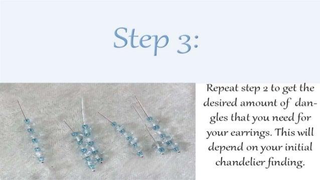 How to make blue chandelier earrings diy jewelry making tutorial 5 aloadofball Choice Image