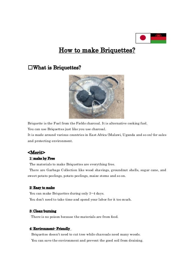 How to make Briquettes? □What is Briquettes? Briquette is the Fuel from the Fields charcoal. It is alternative cooking fue...