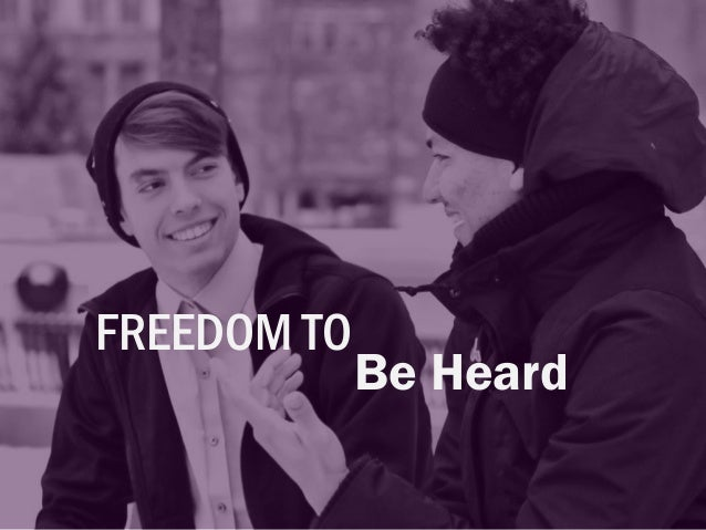 FREEDOM TO Act with Support