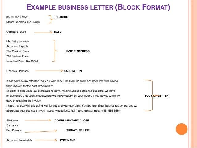business letter font size Korestjovenesambientecasco