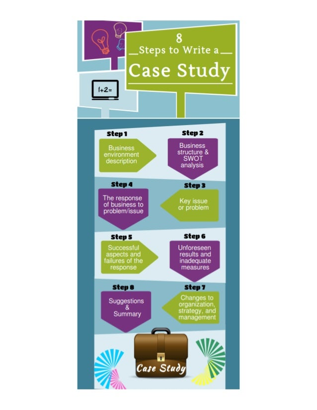 8 steps to write a case study