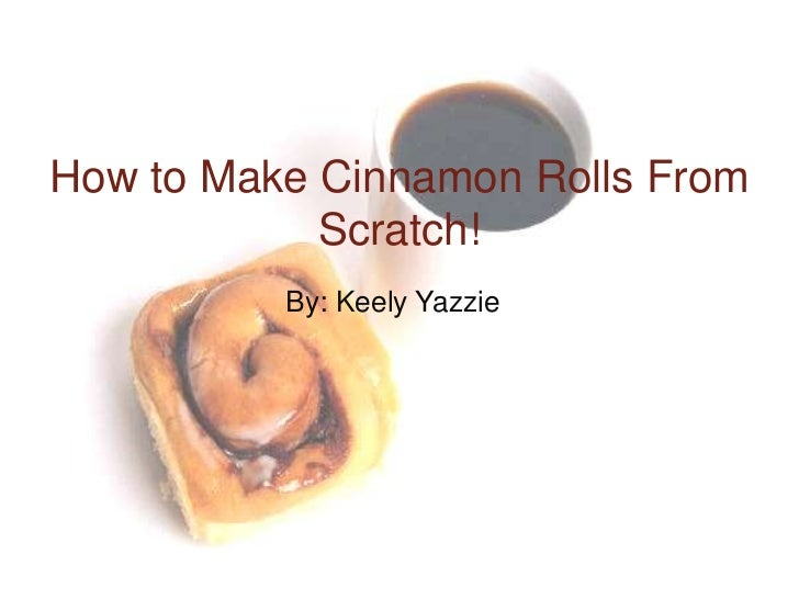 how to make cinnamon twists from scratch