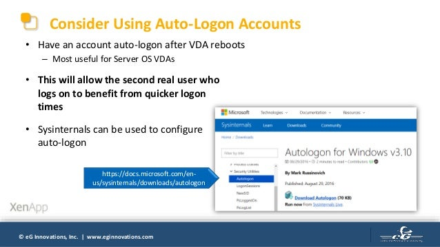 How to Make Citrix Logons Faster?