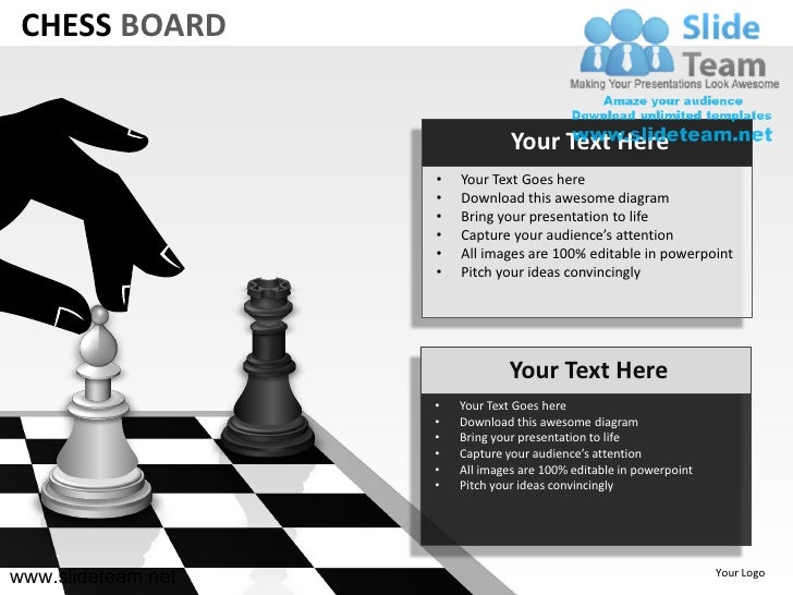 How To Make Create Chess Board Powerpoint Presentation
