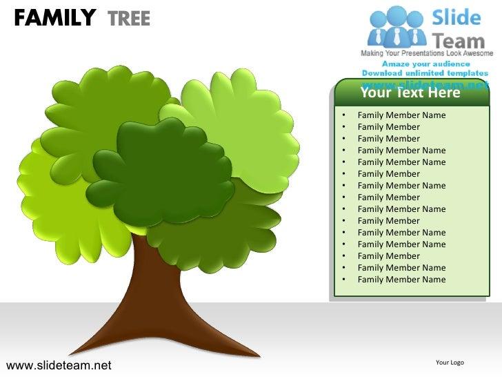 how to make create geneology family tree powerpoint presentation slid u2026