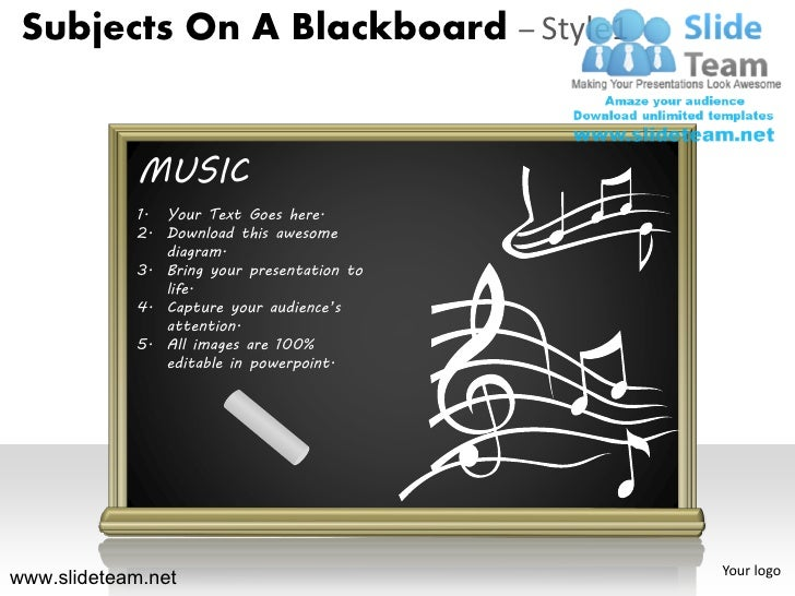 How to make create subjects on a blackboardphysics music literature d how to make create subjects on a blackboardphysics music literature design 1 powerpoint presentation slides and ppt templates graphics clipart toneelgroepblik Gallery
