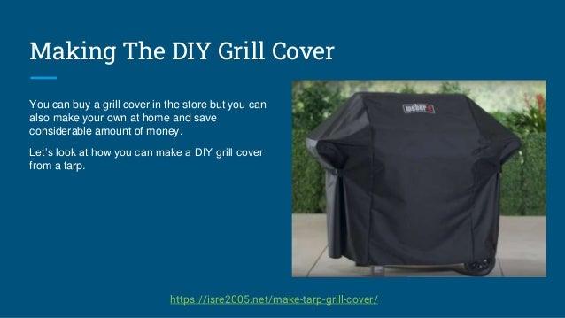 How To Make DIY BBQ Cover Presentation Slide 2