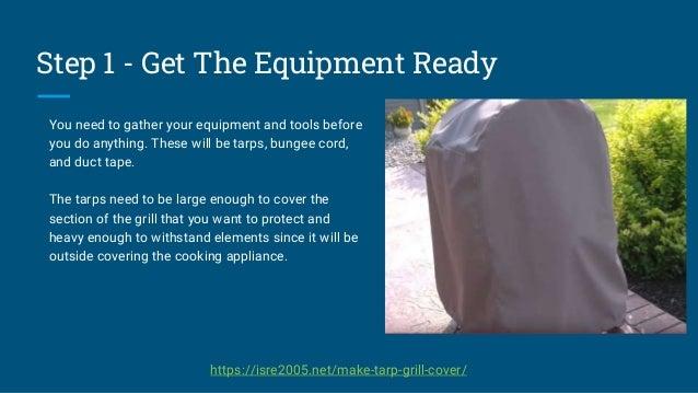 How To Make DIY BBQ Cover Presentation Slide 3