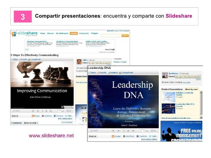 Compartir presentaciones : encuentra y comparte con  Slideshare
