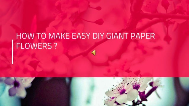 15 Easy Paper Flowers Crafts For Toddlers, Preschoolers and Bigger ... | 359x638