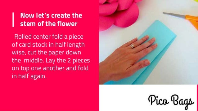 How to make easy diy giant paper flowers 13 now lets create mightylinksfo