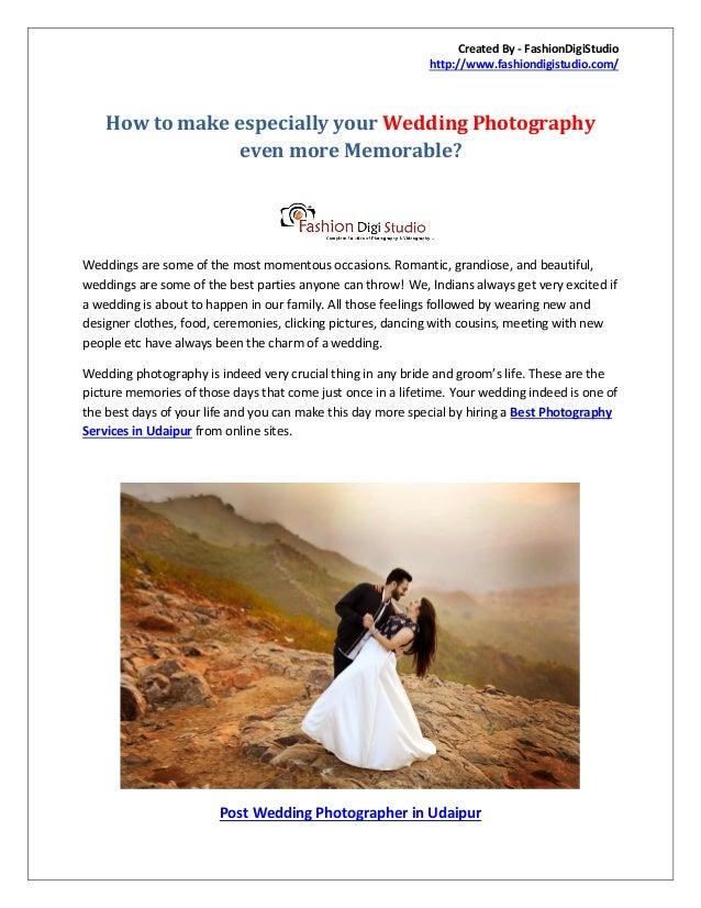 09e3d45cce0 How to make especially your wedding photographyeven more memorable