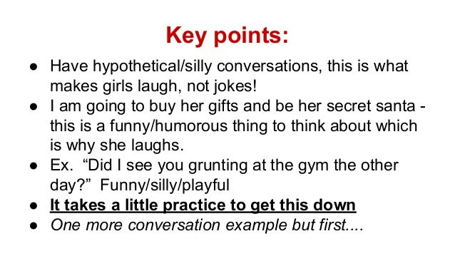 Make How Girl To Laugh A