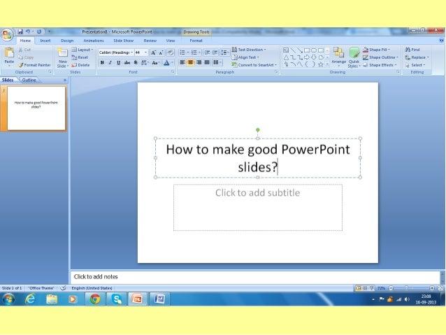 Presentation Skills Success