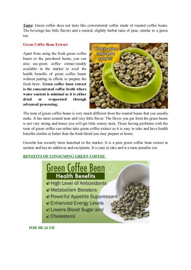 hur använder man green coffee