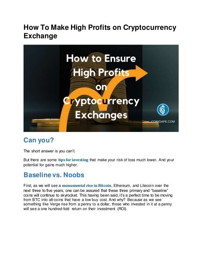 How to advertise cryptocurrency exchange