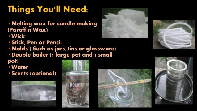 how to make homemade candles. Black Bedroom Furniture Sets. Home Design Ideas
