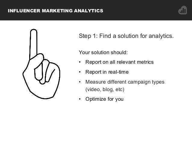 Step 1: Find a solution for analytics. Your solution should: • Report on all relevant metrics • Report in real-time • M...