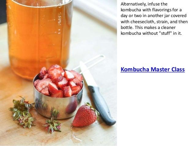 how to make kombucha without tea