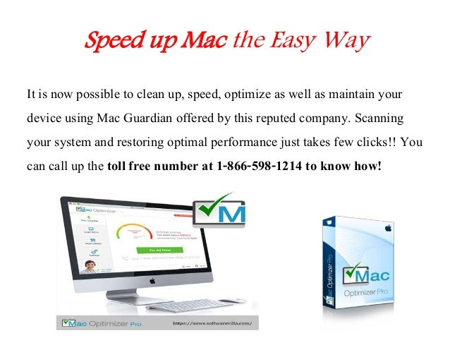 how to make my mac run faster