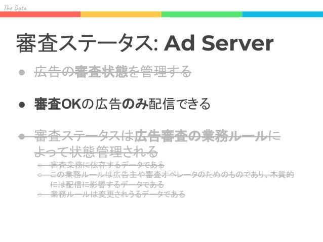 Ad Server を変更されうる データに依存させることに なる